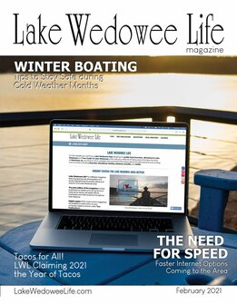 Cover of Feb Issue 2021 lake Wedowee Life